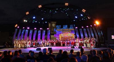Фольклорный фестиваль в Албании